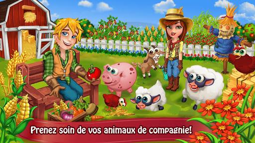 Jour Farm Village: Agriculture Jeux hors ligne  captures d'écran 2