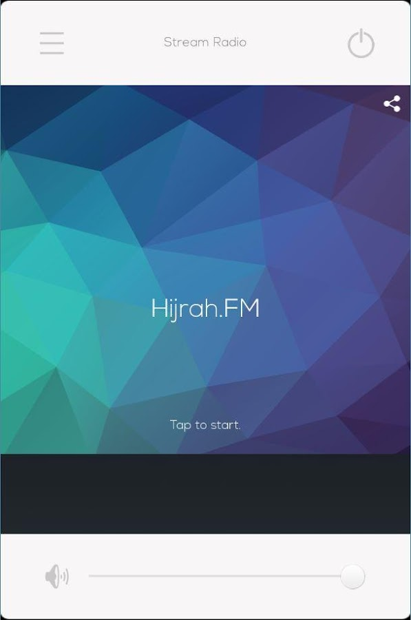 Hijrah.FM- screenshot