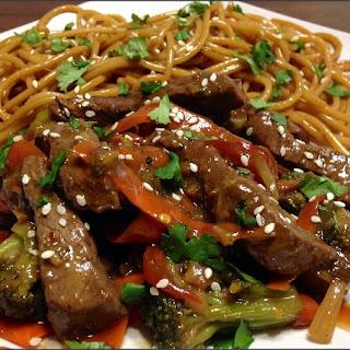 Szechuan Beef Stir Fry