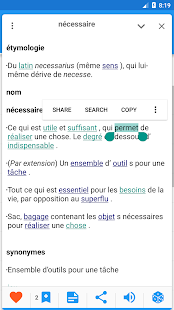 French Explanatory dictionary- screenshot thumbnail