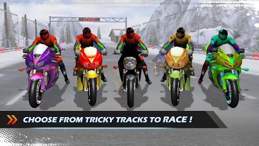 Bike Race 3D  captures d'écran 2