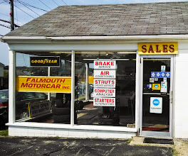 Photo: Falmouth Motorcar Inc in Falmouth, MA proudly displaying their BBB Accreditation