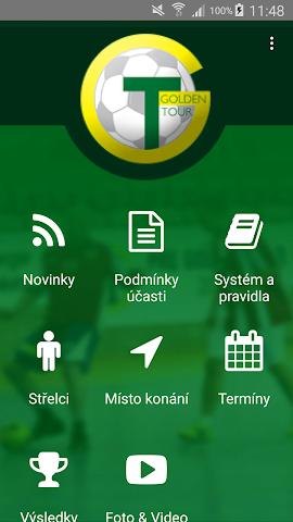 android Golden Tour Screenshot 1
