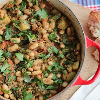 Vegan Cassoulet with White Beans & Garlic Breadcrumbs