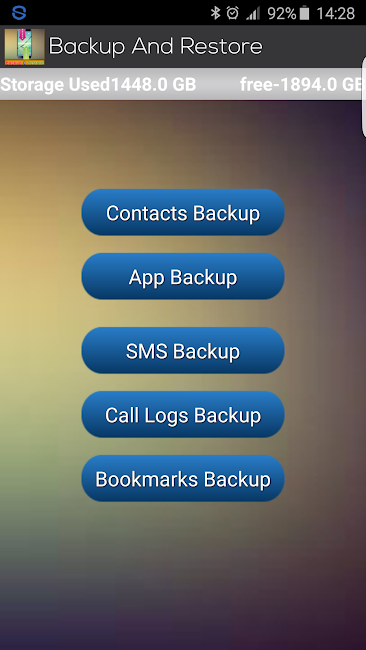 #2. Contacts, SMS Backup & Restore (Android)