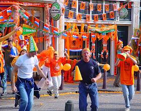 Photo: Noordermarkt. Opnamen voor een Heineken commercial