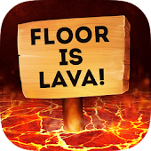 Floor is Lava Simulator Parkour 3D