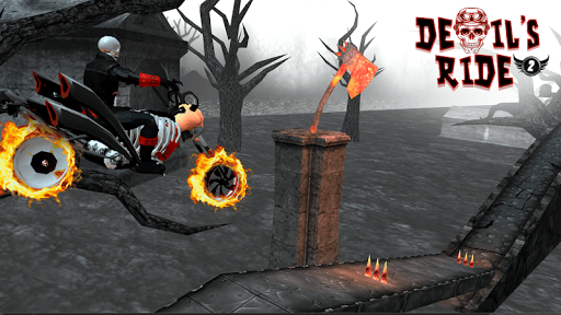 Devil's Ride: Bike Stunt Game captures d'u00e9cran 2