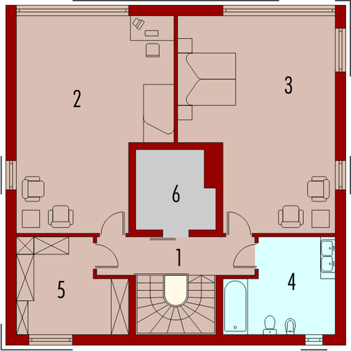 Graphics G1 - Rzut piętra