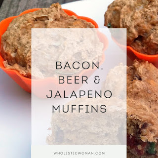 Bacon, Beer & Jalapeno Muffins