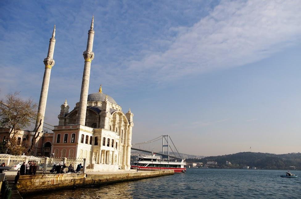 Qué ver en Estambul. Mezquita de Ortaköy