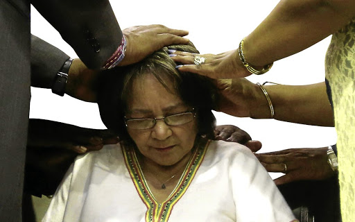 Patricia de Lille is in the dog box. Picture: ESA ALEXANDER