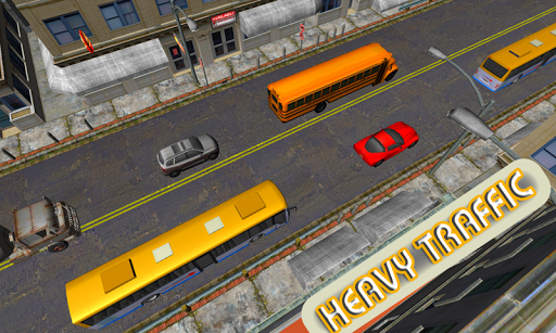 Party Bus Traffic 3D