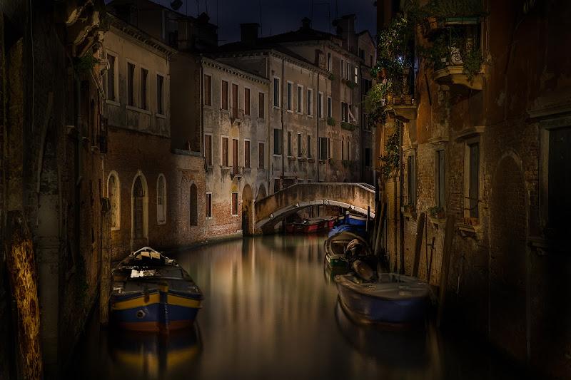 Quando il sole tramonta e le luci si accendono, Venezia si trasforma. Se non è magia questa... di aliscaforotto