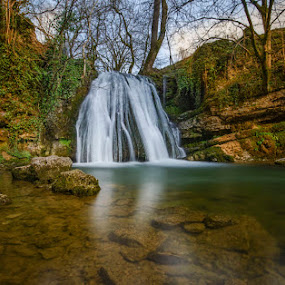 Janet's Foss by Graham Kidd - Landscapes Waterscapes ( water, waterfall, long exposure )