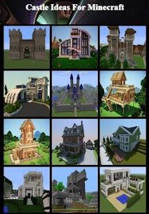Castle Ideas For Minecraft - náhled