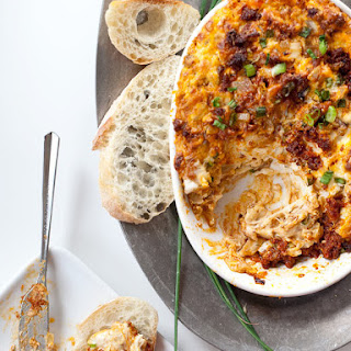 Cheesey Chorizo Caramelized Onion Dip