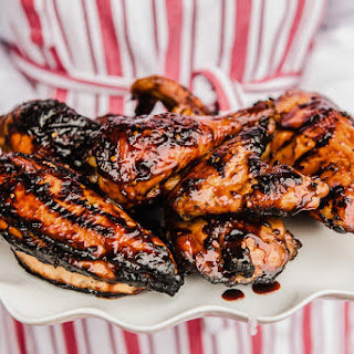 Grilled Bourbon Chicken.