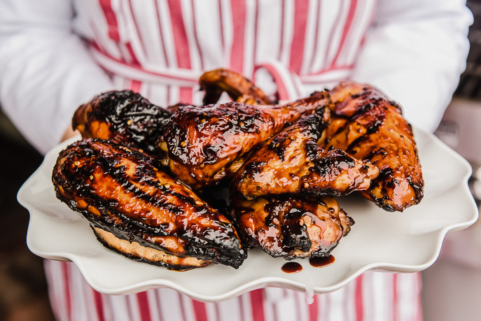 Grilled Bourbon Chicken Recipe