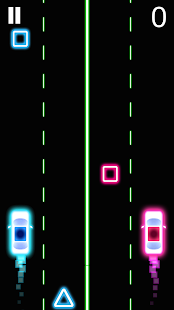 Neon 2 Cars Racing- screenshot thumbnail
