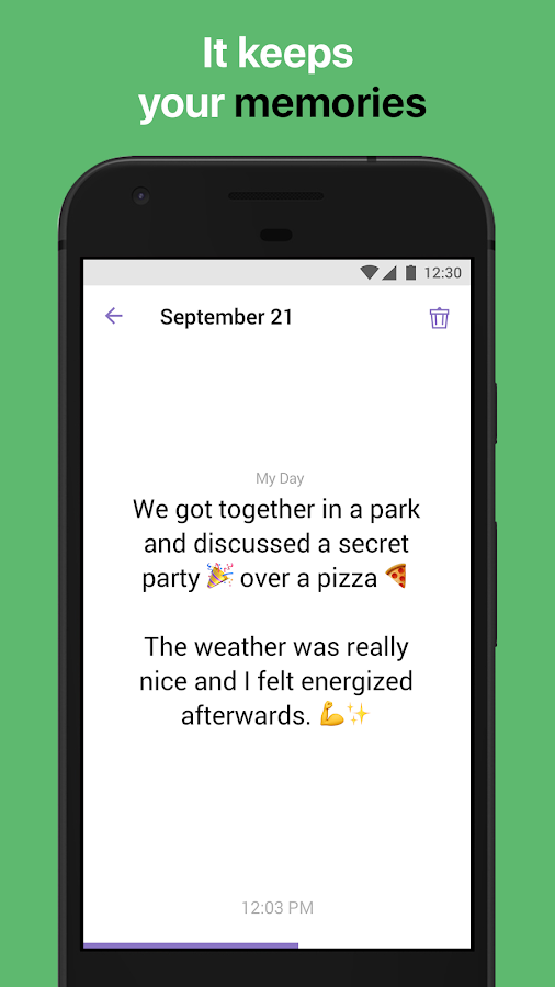 Replika- screenshot