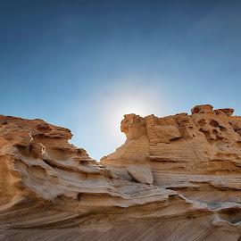 Fossil Dune by Ricky Pagador - Landscapes Deserts ( sands, sand, dunes, desert, formations, sunrise, formation )