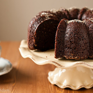 Chocolate Asparagus Bundt Cake
