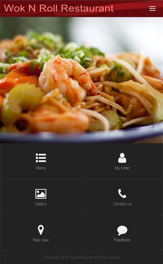 Wok N Roll Restaurant- screenshot