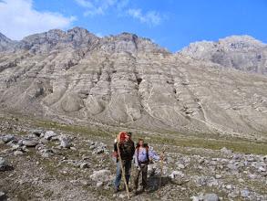 Photo: Скальная стенка к северо-востоку от пер. Дабан-Жалга