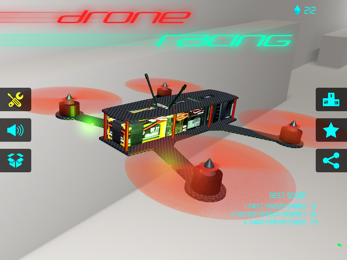 Drone Racing - Quadcopter FPV- screenshot