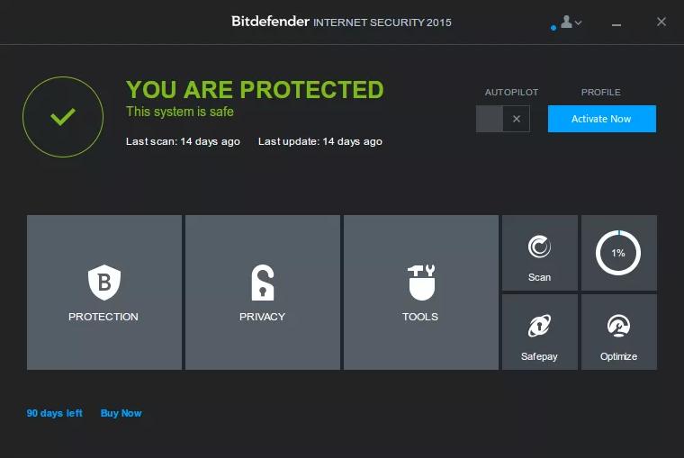 Hướng dẫn Kích hoạt bản quyền Bitdefender vĩnh viễn 1