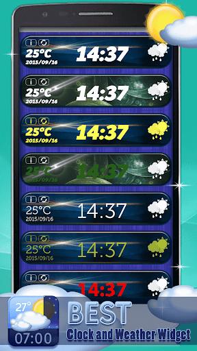 玩免費生活APP|下載世界时间和天气小工具 app不用錢|硬是要APP