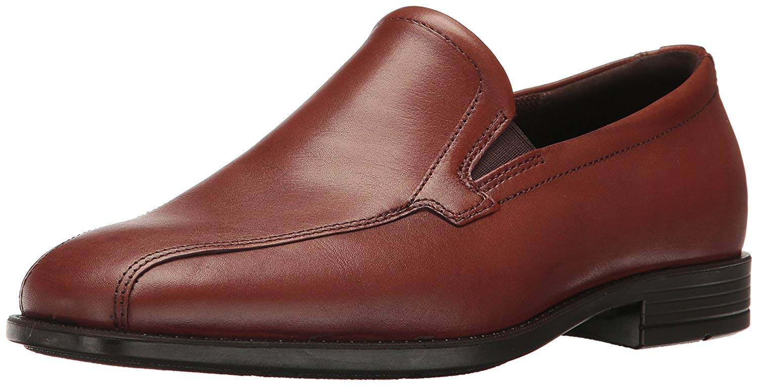 ECCO Men's Edinburgh Bike Toe Slip-on Loafer