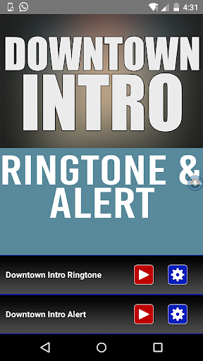 Downtown Intro Ringtone