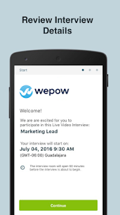 Wepow Live- screenshot thumbnail