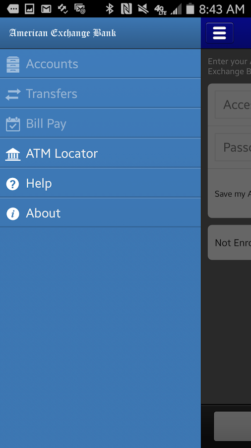 American Exchange Bank Mobile- screenshot