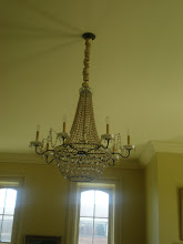 Photo: All the chandeliers in Jubilee Hall were given to Fisk by Tiffany.