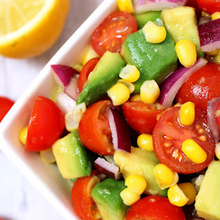 Avocado Cherry Tomato Salad
