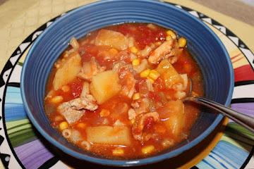 Tomato Potato Southwestern Soup Recipe