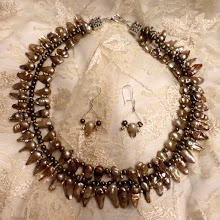 Photo: # 217  FW pearls & silver plate $175  SOLD
