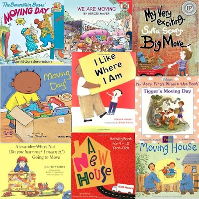 Moving with Children Book Recommendations