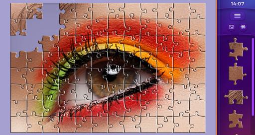 Permainan puzzle jigsaw  screenshots 1