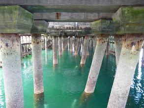 Photo: Under pier at Mallaig