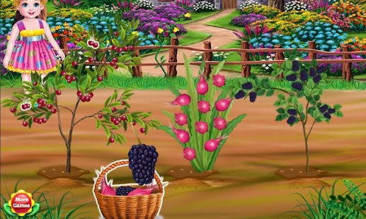 Little Girl Gardening- screenshot thumbnail