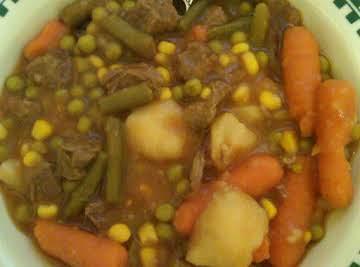 Homemade Veggie Soup 101