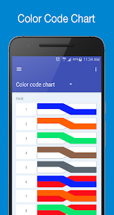 copperpairs telecom color code translator android apps. Black Bedroom Furniture Sets. Home Design Ideas