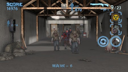 Zombie Hunter King APK screenshot thumbnail 1