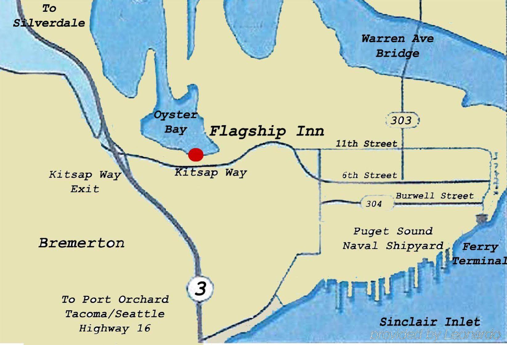 bremerton wa map