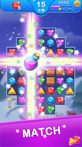 Jewel Blast Dragon - Match 3 Puzzle apkdemon screenshots 1