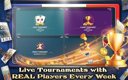 VIP Tarot - Free French Tarot Online Card Game 3.6.17 screenshots 19